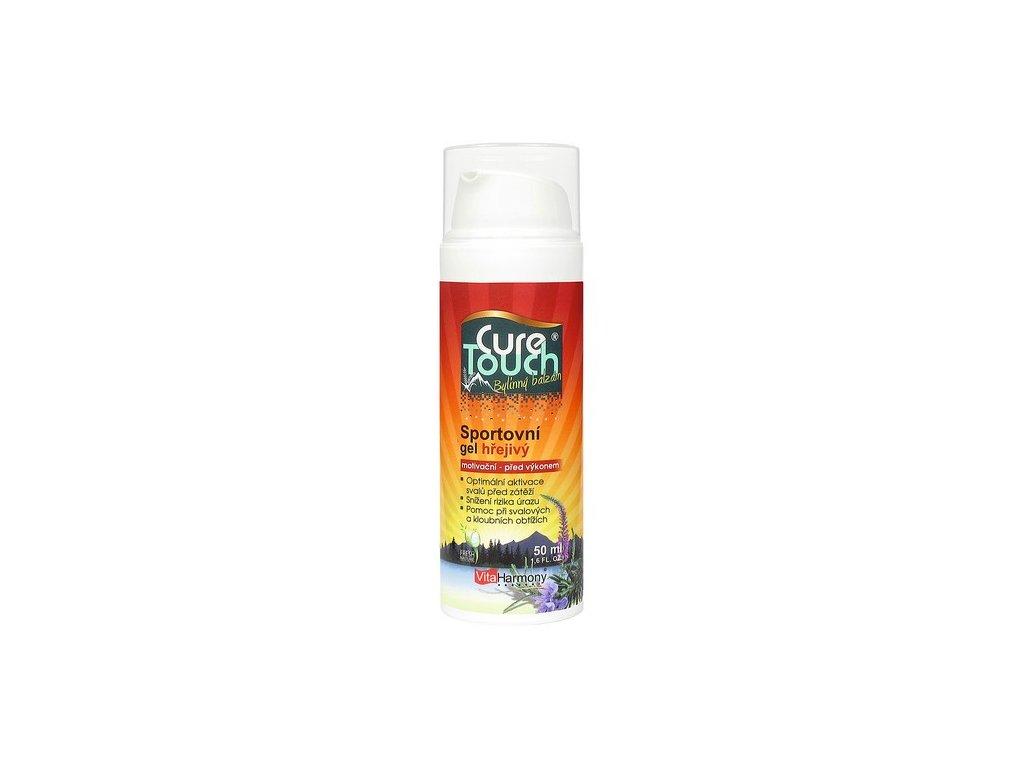 Sportovní gel hřejivý 200 ml