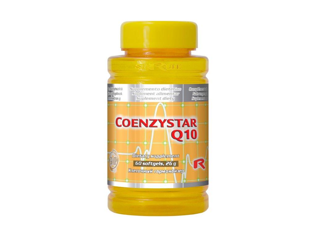 COENZYSTAR Q10 60 tobolek - koenzym Q10, 30 mg