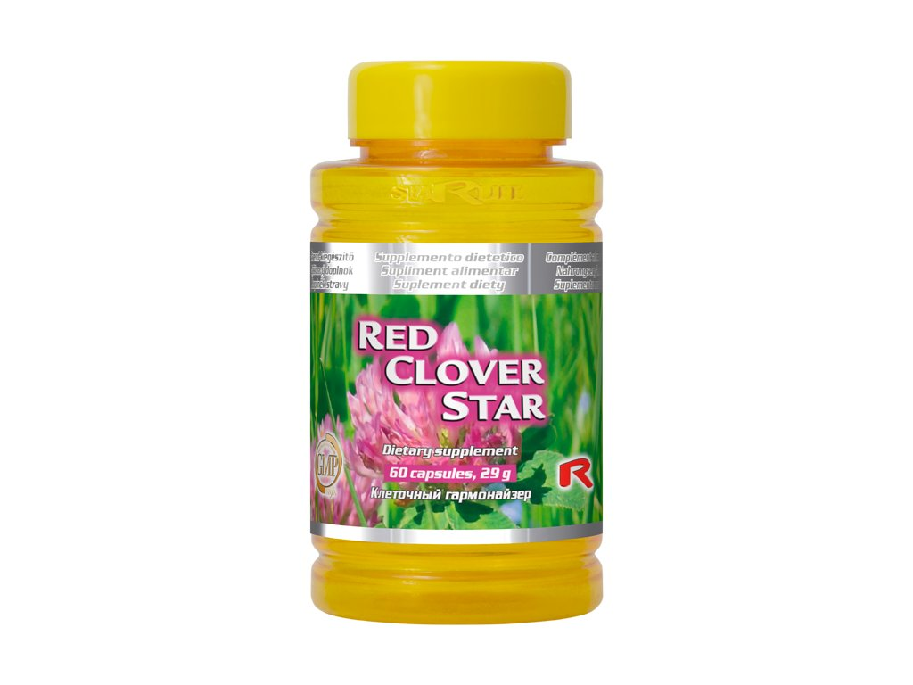 RED CLOVER STAR 60 kapslí