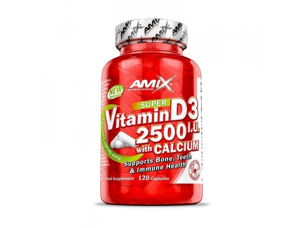 super vitamin d3 s vápníkem amix 1