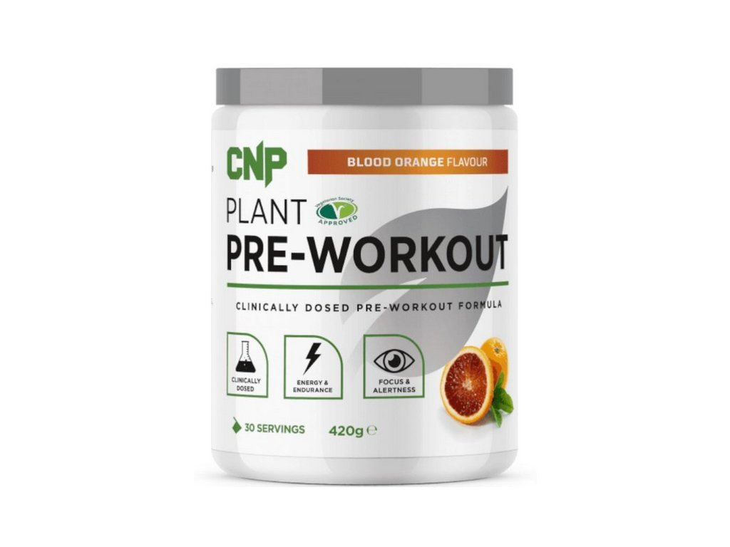 plant pre workout cnp