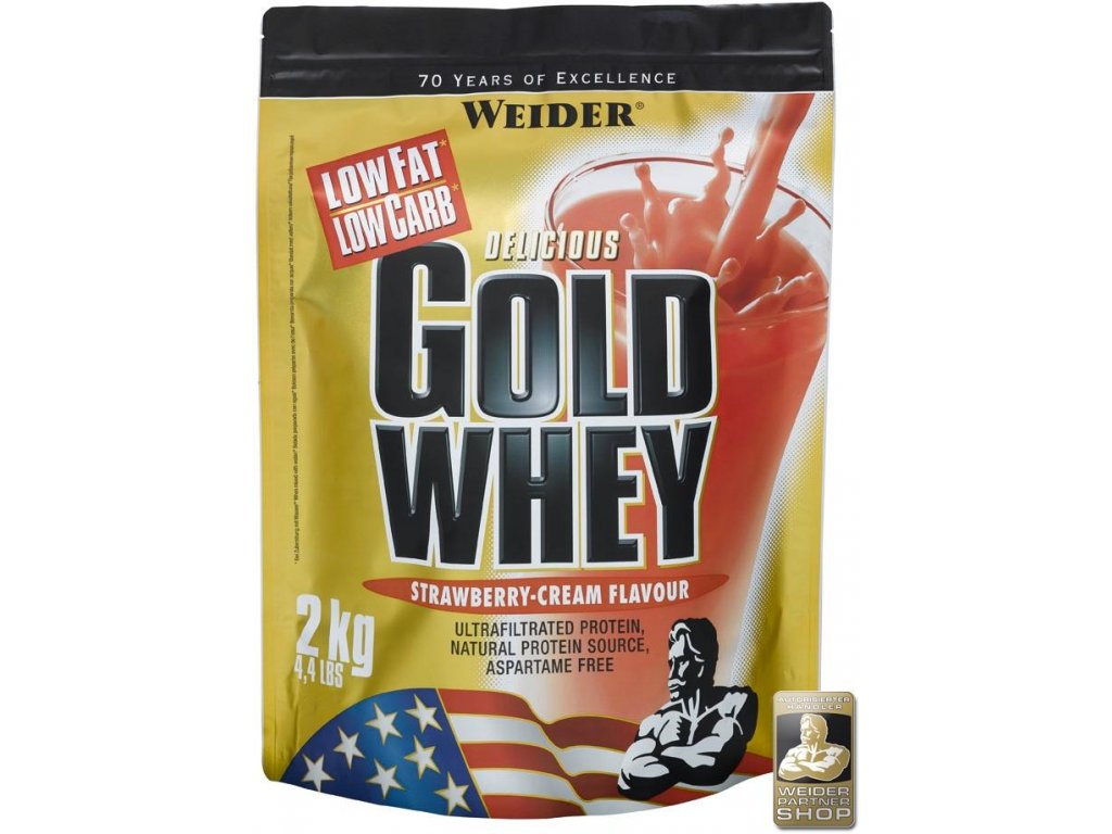 Gold Whey 2000 g