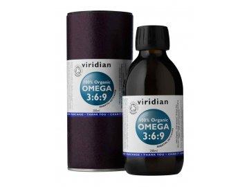 100% Organic Omega 3:6:9 Oil 200ml