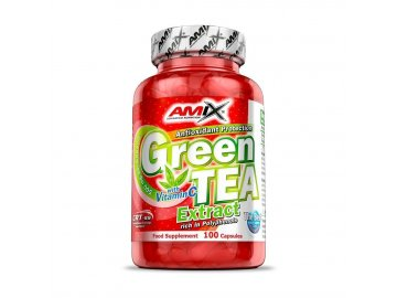Green Tea + Vitamin C - 100 kapslí