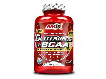 Glutamine + BCAA 360 kapslí