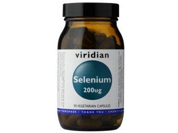 Selenium 200ug (Selen) 90 kapslí