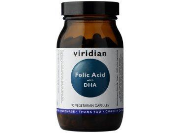 Folic Acid with DHA (Kyselina listová s DHA) 90 kapslí