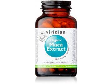Organic Maca Extract 60 kapslí