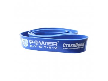 posilovací guma croos band modrá