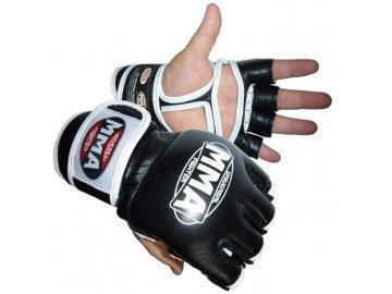 mma rukavice bílé
