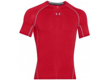 kompresní tričko under armour červené