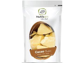 cacao butter kakaové máslo