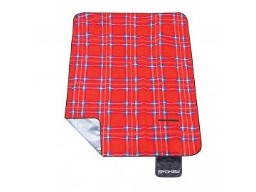 pikniková deka červená