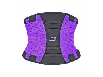 power system zestihlujici a tvarujici pas waist shaper fialový