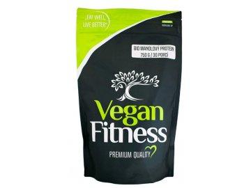 mandlový protein vegan fitness