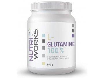 l glutamine 500g NutriWorks