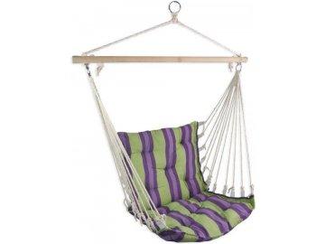 houpací sedátko s provazy
