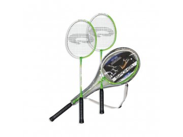Spokey FIT ONE GREEN Sada na badminton zelená