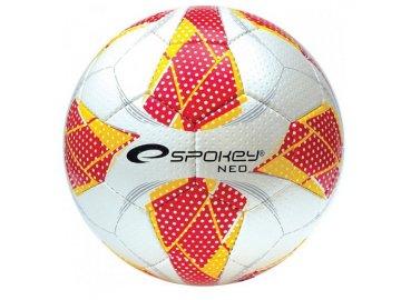 Spokey NEO FUTSAL II Míč na halový fotbal červený č.4
