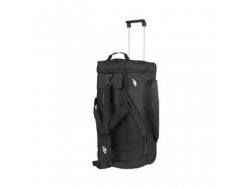 černá cestovní taška na kolečkách 80l