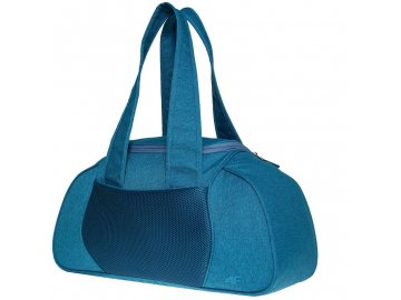 Dámská sportovní taška  přes rameno v modré barvě 4F