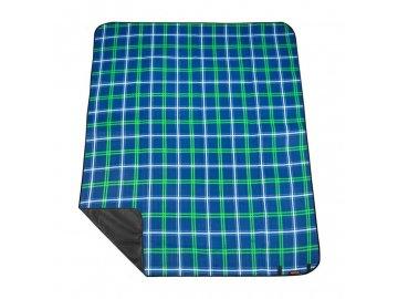 PICNIC TARTANA Pikniková deka s popruhem  150 x 180 cm