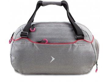 Šedá cestovní taška