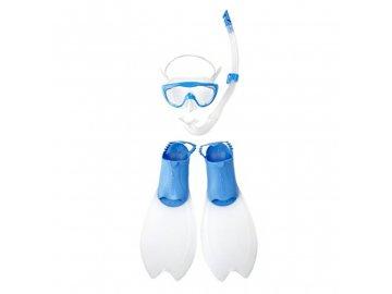 Modrá sada na potápění pro děti
