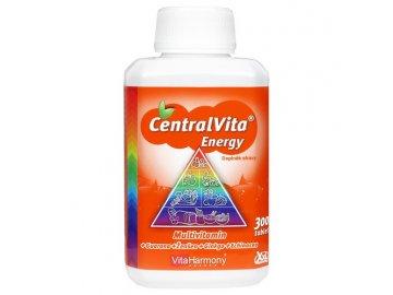 CentralVita Energy® - XXL economy balení 300 tbl., multivitaminy pro dospělé