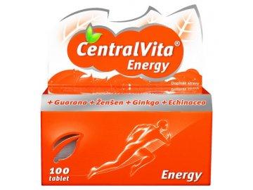 CentralVita Energy® - 100 tbl., multivitaminy pro dospělé