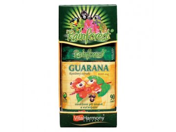 RainForest® Guarana 800 mg - 90 tbl.
