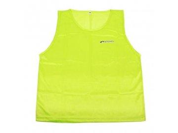 Rozlišovací vesta Shiny - žlutá