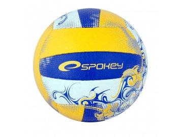 Volejbalový míč Spokey EOS - žlutý, velikost 5, ručně šitý
