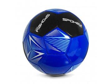 modrý fotbalový míč