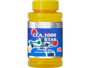 CLA 1000 STAR 60 tobolek - konjugovaná kyselina linolová