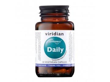 Synerbio Daily 30 kapslí (Směs probiotik a prebiotik)