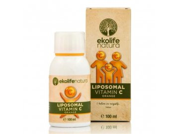 Liposomal Vitamin C 500mg 100ml pomeranč