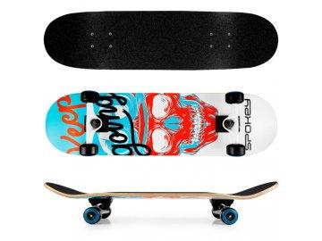 skateboard spokey skalle 1
