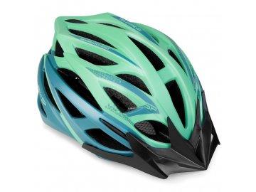 Cyklistická přilba pro dospělé IN-MOLD FEMME, 58-61 cm, zelená