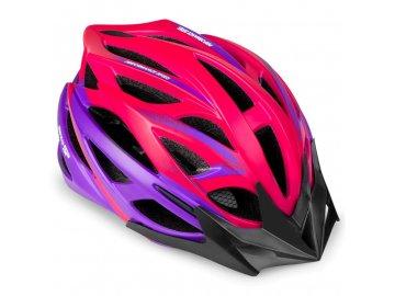 Cyklistická přilba pro dospělé IN-MOLD FEMME, 55-58 cm, růžová