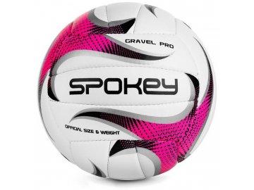 volejbalový míč Gravel růžový 1