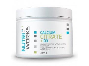Calcium Citrate + D3 250g