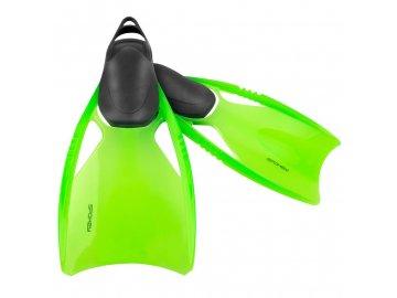 ploutve na potápění dětské zelené 1
