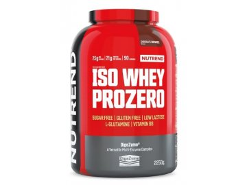 iso whey prozero nutrend protein