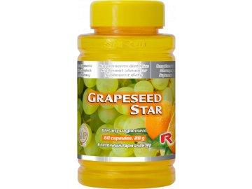 GRAPESEED STAR 60 kapslí