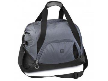 sportovní taška přes rameno kioto šedá 11