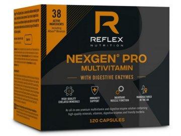 reflex nexgen pro multivitamin 120 kapslí