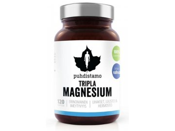 triple magnesium puhdistamo 120