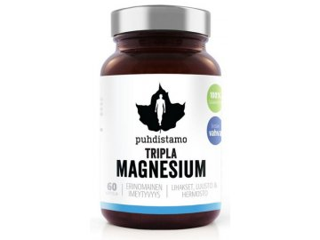 triple magnesium 60 kapslí puhdistamo