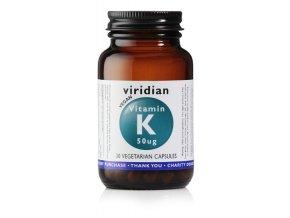 Vitamin K 50ug 30 kapslí